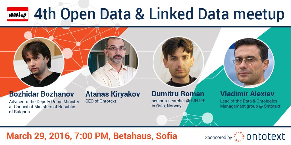 4th Sofia Open Data Meetup