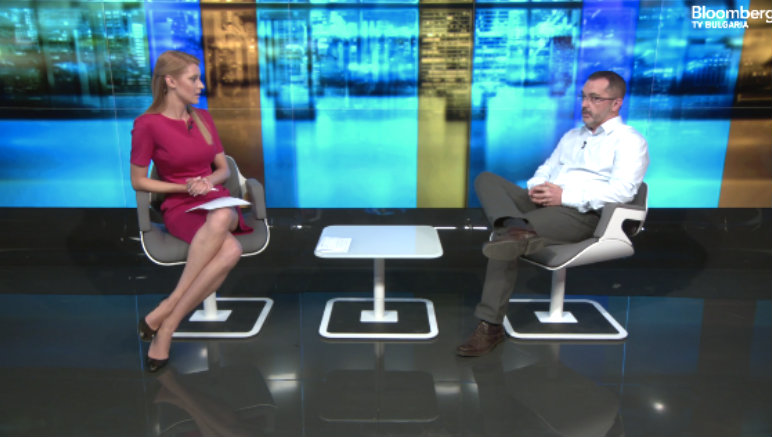 Atanas Kiryakov at Bloomberg TV about semantic technologies Ontotext and Impelsys Bulgaria