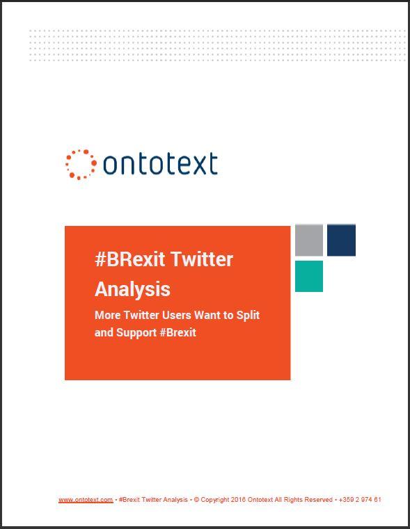 #BRexit Twitter Analytics