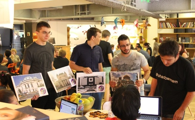 Sofia hackathon team presentation