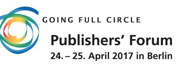 Publishers Forum, Germany