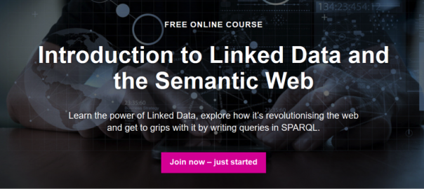 Introduction to Linked Data and the Semantic Web Online Course